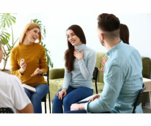 Laughter sessions- social-wellness-activities